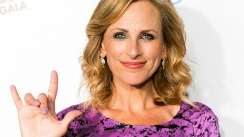 Crimson J : Marlee Matlin: Deaf and famous