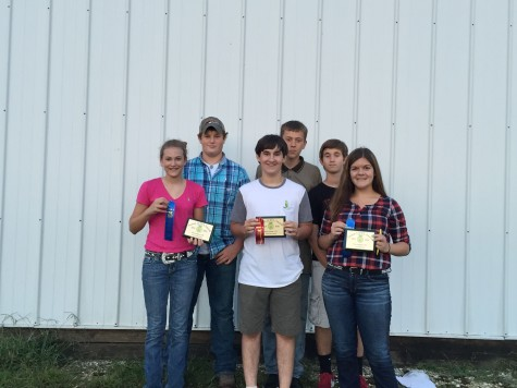 2015 Greenhand Horse Judging Team
