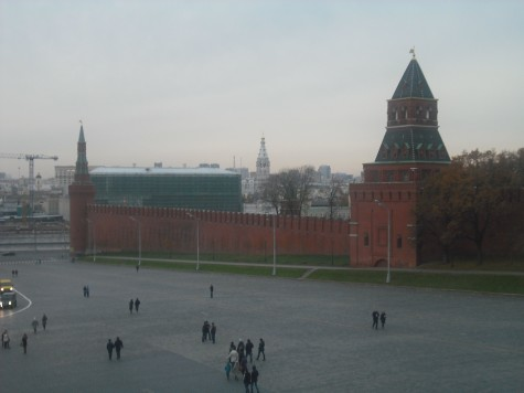 The Kremlin Wall in Red Square, Moscow