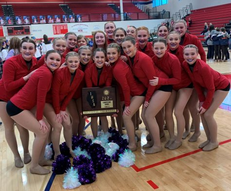 Dance team excels at first competition of the season