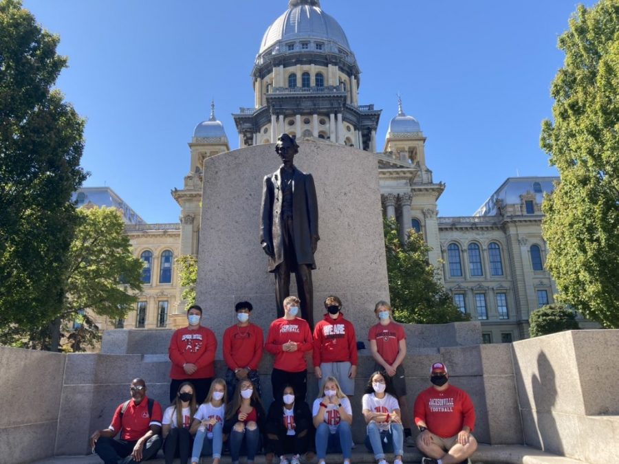 Athletes and coaches rally at state capitol